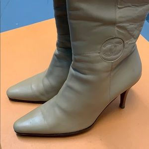 CHANEL Shoes - Chanel Beige Leather Boots